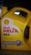 SHELL HELIX HX5 SAE 15W/40 (MULTIGRADE)